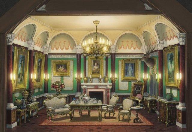 『借りぐらしのアリエッティ』のドールハウス