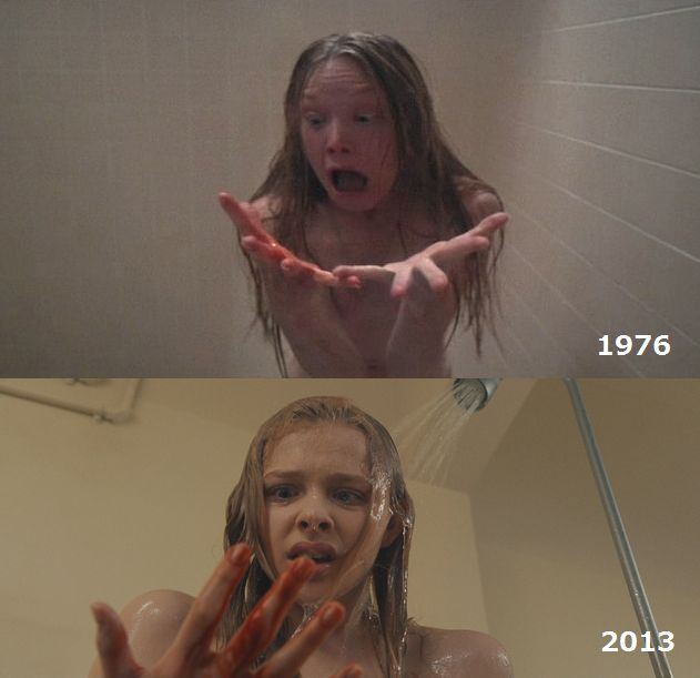 carrie-shower
