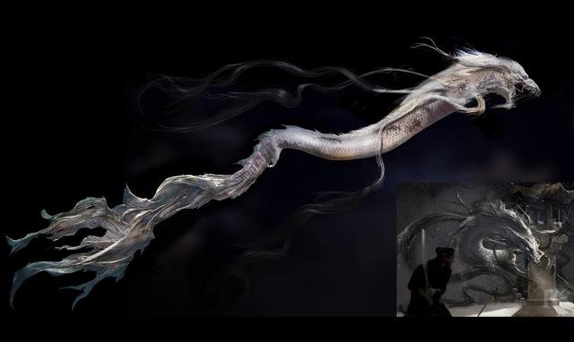 龍のコンセプト・アート