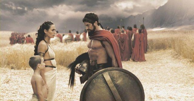 レオニダスと妻子