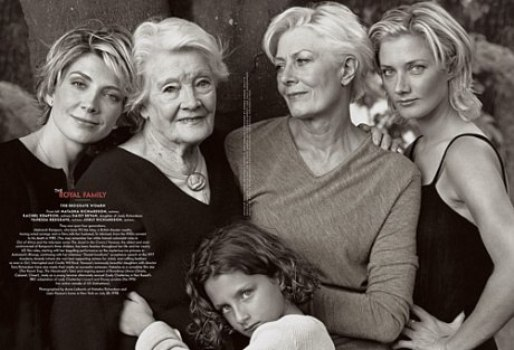 レッドグレイヴ家四代の女たち。
