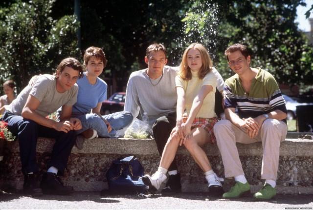 左からビリー、シドニー、スチュアート、テイタム、ランディー
