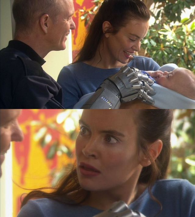 「かわいい赤ちゃんですね」 「え? ちょっと待って! 何それ?」