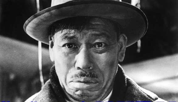 そしてこれが映画史に残る志村喬の泣き顔