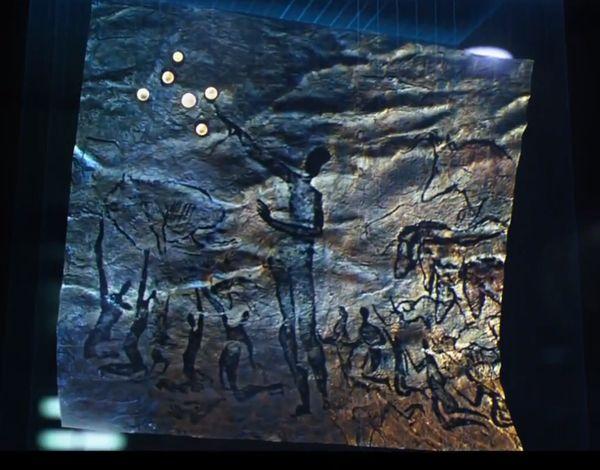 これがその洞窟壁画