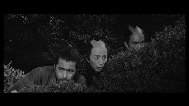 三船敏郎、田中邦衛、加山雄三
