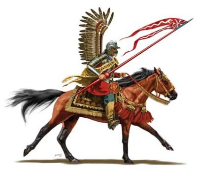 ポーランドの有翼騎兵フサリア
