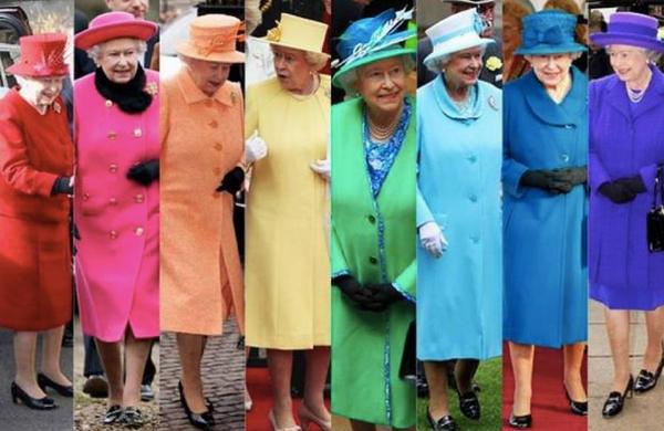 レインボー・カラーの女王様
