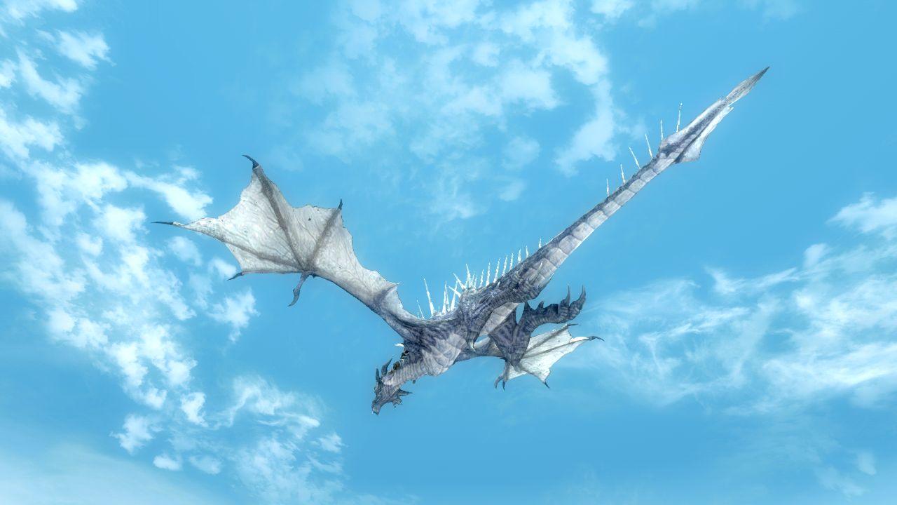 ゲーム評】skyrim事始め その10.ここがすごいよ、skyrim!(3) ドラゴン